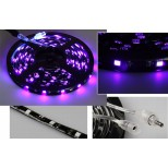 "LED-Stripe ""CLS-200UV"" 200cm, blacklight, 60x LEDs 5050, 10W"