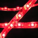 Individuell gefertigtes LED Stripe mit SMD-LEDs rot, 5cm bis 500cm Länge