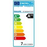 E27 LED Birne 7W = 60 Watt 806 Lumen warmweiss 2700K - Baufrom wie Glühbirne - Markenware Philips ®