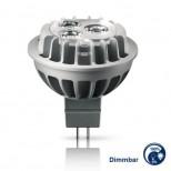 LED Leuchtmittel 12V MR16 / GU5.3 dimmbar 6,5W mit 2700K warmweiss, Niedervolt von Philips®