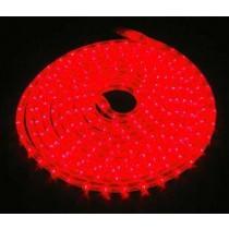 LED Lichtschlauch rot - Wunschlänge,  Anschlussfertig inkl. Netzstecker 230V